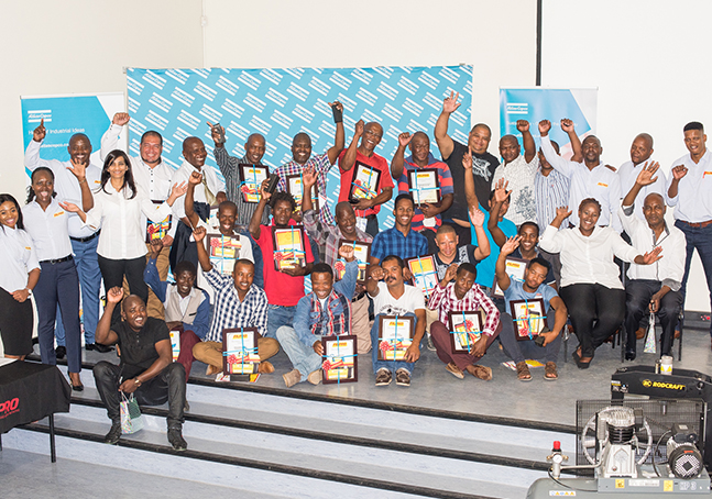 Filpro sponsors R1million in tools and equipment to informal mechanics in PE