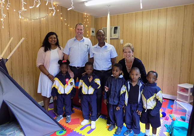 G.U.D. brings colour to life for Fulton School with new sensory room sponsorship