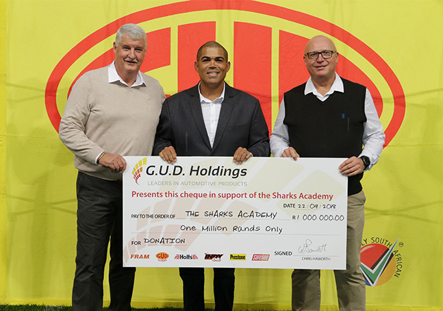 G.U.D. Holdings tackles education with Sharks Academy sponsorship