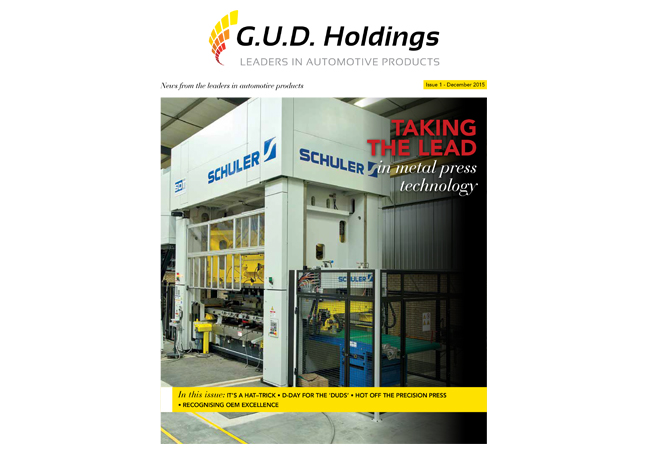 G.U.D. Customer Magazine 1st Edition