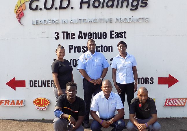 Permanent employment at G.U.D. Holdings for learnership beneficiaries